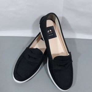 Cole Haan canvas loafers